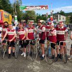 Le emozioni a tinte rosa del Giro d'Italia ad Anghiari