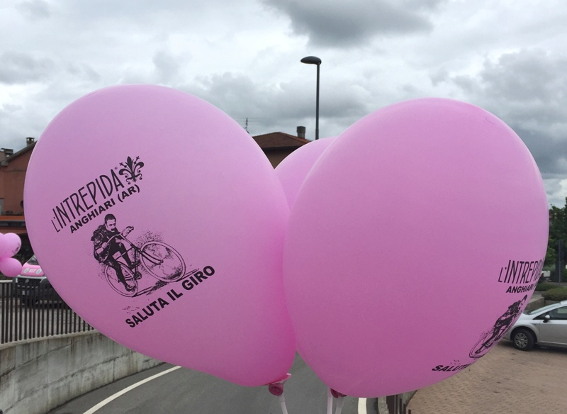 palloncini rosa Anghiari