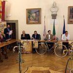 Il regista del Giro d'Italia Nazareno Balani ad Anghiari venerdì sera