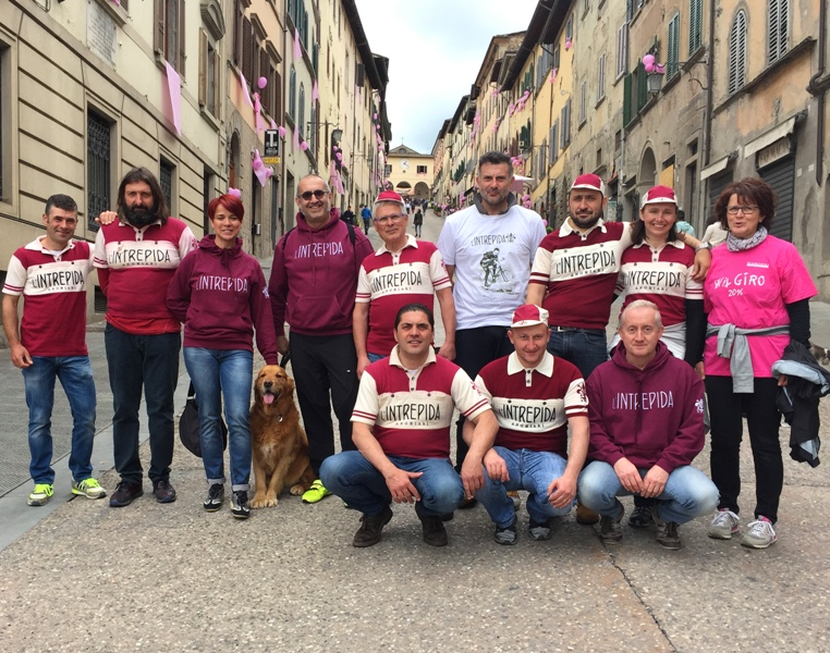 L'Intrepida al Giro ad Anghiari